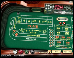 Craps table homemade